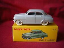 "DINKY TOYS (éditions atlas) - Simca 9 ""Aronde"" Ref: 24U - 1/43"