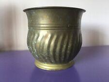 Large Vintage Brass Planter. Plant Pot Holder. Garden. Jardienier. Aspidistra
