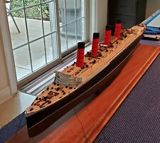 Wood Deck for 1/350 Lusitania (fits Entex) by Scaledecks [Lcd-86]