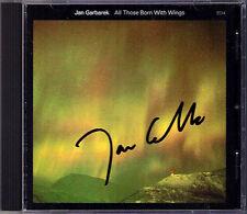 Jan GARBAREK Signiert ALL THOSE BORN WITH WINGS In Memory of Takowskij ECM CD