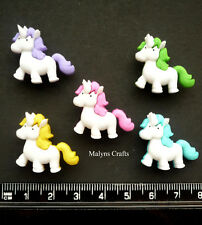 FANTASY UNICORN Craft Buttons 1ST CLASS POST Baby Fairytale Nursery Pony Magic
