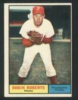 1961 Topps #20 Robin Roberts EXMT/EXMT+ Phillies 123116