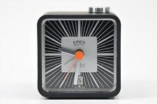 EMES SONOLUX alter Wecker schwarz Retro Vintage Uhr 71-7801-70 NEU NOS; K71 74