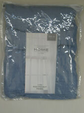 "JCPenney Home™ Lara Rod Pocket Panel 50"" W X 84"" L Lapis Blue 3 Inch pockets"
