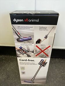 Dyson V8 Animal Cordless Vacuum Cleaner - Iron/Gray - New- Wow!