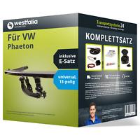 Anhängerkupplung WESTFALIA abnehmbar für VW Phaeton +E-Satz (AHK und ES)