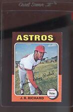 1975 Topps Jr Richard #73 Baseball Card