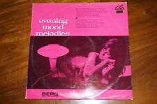 BERO BRNO RADIO POPS ORCHESTRA:EVENING MOOD MELODIES LP EX/NM VINYL RECORD