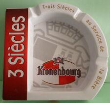CENDRIER KRONENBOURG , 3 SIECLES AU SERVICE DE LA BIERE , VK35 *