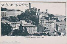 # GENOVA: CASTELLO DE ALBERTIS E COLLINA S. UGO