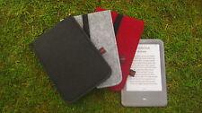 Kindle Keyboard 3G Filz Hülle Tasche Case schwarz NEU Unikat
