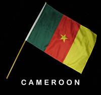 CAMEROON Hand Waver Flag - 30x45cm