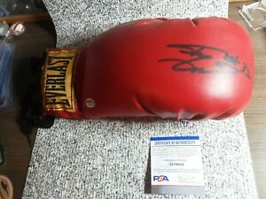 Rare Shaquille O'Neal Signed Everlast Boxing Glove PSADNA