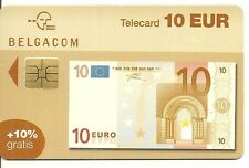 RARE / CARTE TELEPHONIQUE - BILLET 10 EUROS / PHONECARD