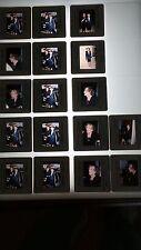 BETTE DAVIS CANDID VINTAGE  LOT OF 35MM SLIDE TRANSPARENCY PHOTO #