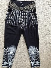 NWT DIVINE CAMILLA Franks 'State Of Disorder' Studded Trouser Pants Size 2 $849
