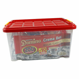 Domino Crema Box Classic 200 Kaffeepads