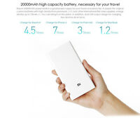 XIAOMI 20000mAh Power Bank Quick Charging Fast charg Dual USB 5V 9V 12V