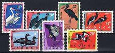 Congo (Zaïre) - 1963 Birds  - Mi. 138-44 FU