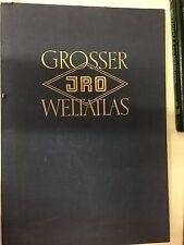 Grosser JRO Weltatlas - 1964