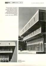 1966 Walling, Hall Of Pharmacy, Michigan 1 Glen Paulsen & Associates