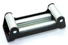 """NEW Heavy Duty Winch Wire Roller Fairlead in Black / Cable 10"""" Mount up to 12K"""