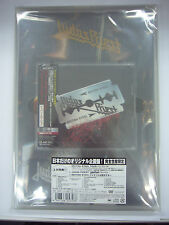 SEALED NEW JUDAS PRIEST-British Steel JAPAN ONLY w/OBI DVD POSTER BADGE PAMPHLET