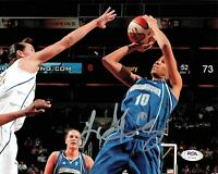 Lindsey Harding Signed 8x10 photo WNBA PSA/DNA Autographed Lynx