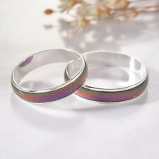 1PC Amazing Change Color Temperature Mood Rings Emotional Feeling Band Size8.5