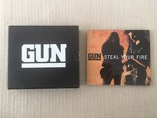 Gun – Steal Your Fire  Maxi-Single Special Edition AMCD 851 + Presentation Box