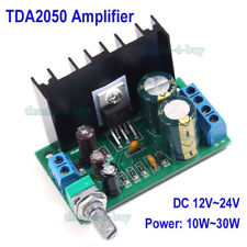 TDA2050 DC 12V-24V 10W-30W Mono Audio Power Amplifier Module 1-Channel Class AB