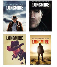 LONGMIRE The Complete Seasons 1-4 1 2 3 4 DVD Sets New First Second Third Fourth
