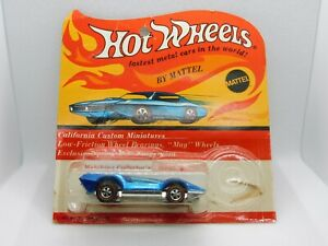 Hot Wheels Redlines Blue Bugeye Canadian Blister Pack TOUGH!!!
