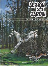 BD  Les fils de l'aigle 10 - Albion côté jardin- E.O. 1996  -TTBE - Faure