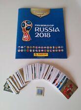 Mundial rusia 2018 lote 318 cromos + album Panini