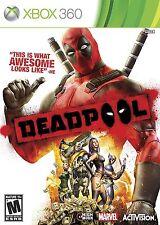 Deadpool [Xbox 360, NTSC, Marvel Action Combat Video Game] NEW