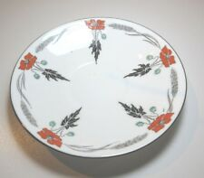 SHELLEY LARGE SAUCER ART DECO 11326 RED POPPY REPLACEMENT