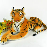 1Pcs Lifelike Tiger Plush Animal Doll Children Kids Simulation Stuffed Toy Doll
