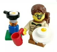LEGO City Camper Boy Kid Child Minifigure Stove & Food Train Scenery 60197 60198
