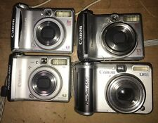 Canon Powershot 520,540,560, & A610 Digital Camera (lot Of 4)