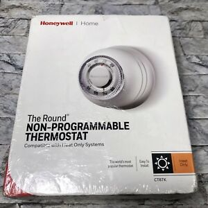 Honeywell- CT87N, the Non-programmable Round Heat/Cool Thermostat