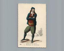 9 Homme de Goulven Anciens Costumes Bretons French France Folklore Postcard