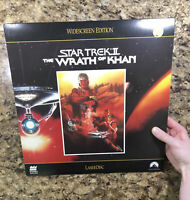 Star Trek II The Wrath Of Khan Laserdisc