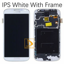 White For Samsung Galaxy S4 GT-i9505 LCD Touch Screen Digitizer with Frame !wsd