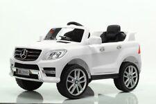 Auto Macchina Elettrica per Bambini 12V Licenza Mercedes ML 350 doppio motore Le