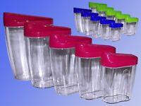Schüttdose 0,3 -0,5 -0,7 -1,0 -1,5 Liter Zucker Mehl Müsli Vorratsdose