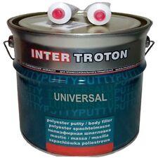 INTER TROTON POLYESTER UNIVERSAL SPACHTELMASSE 4,5 kg inkl.HÄRTER gute Haftung