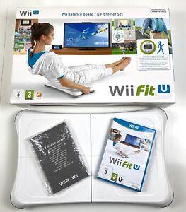 Wii Fit U inkl. Original Balance Board weiß in OVP - Nintendo Wii U