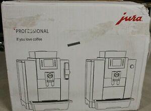 JURA WE8 Chrom Kaffeevollautomat