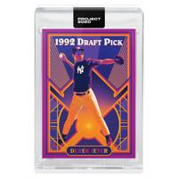 Topps PROJECT 2020 Card 39 - 1993 Derek Jeter by Matt Taylor - IN HAND
